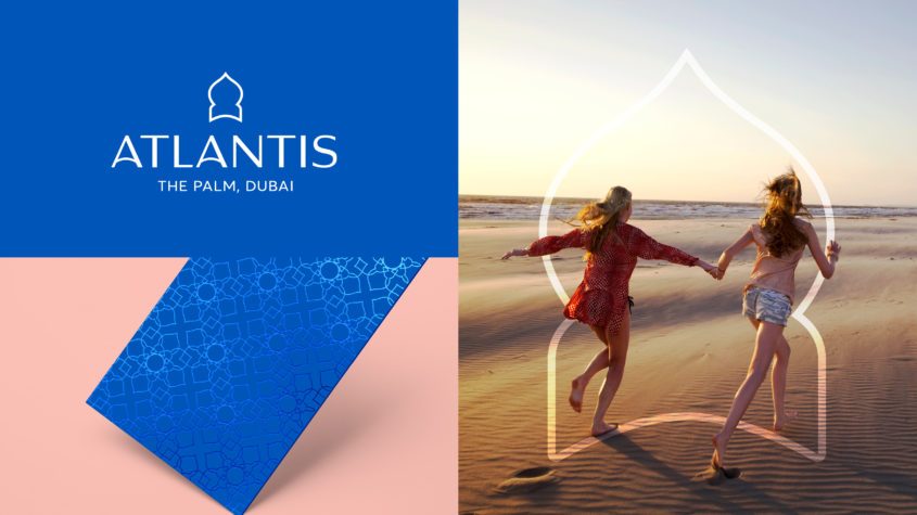 FutureBrand refresh the brand identity of Atlantis, Dubai