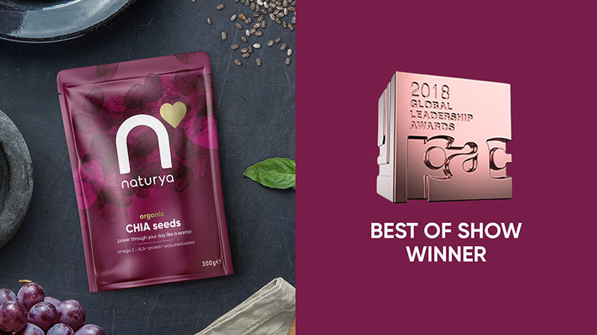Naturya wins Best in Show at PAC 2018