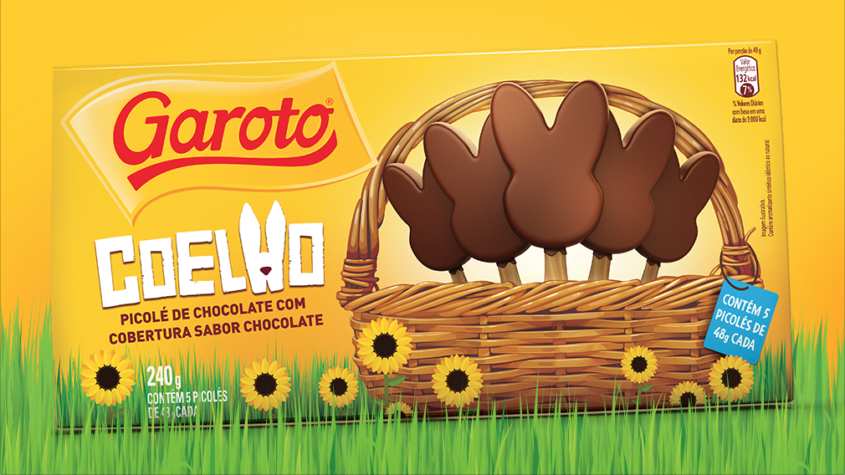 Froneri innovates and launches Garoto Easter Ice cream