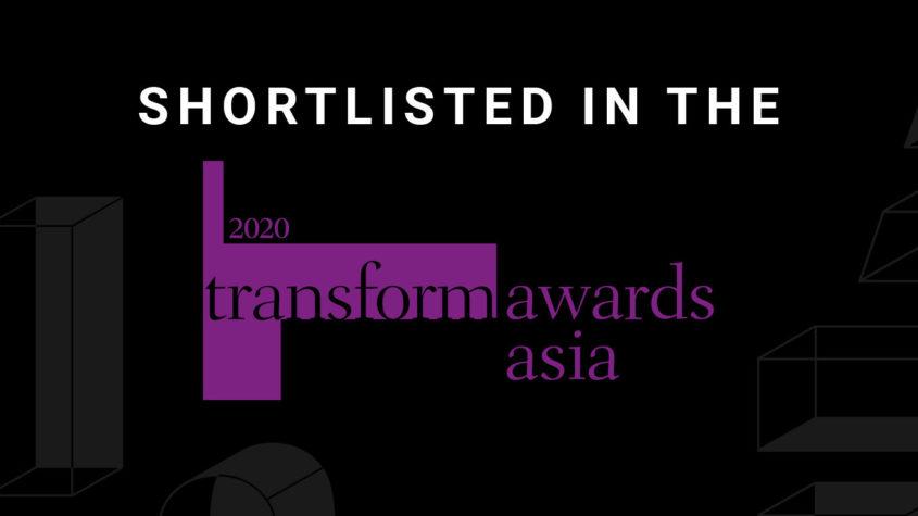 FutureBrand shortlisted for 8 awards at Transform Awards Asia 2020