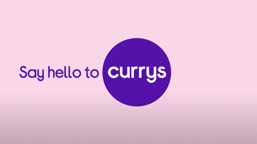 Currys launch new masterbrand identity across advertising