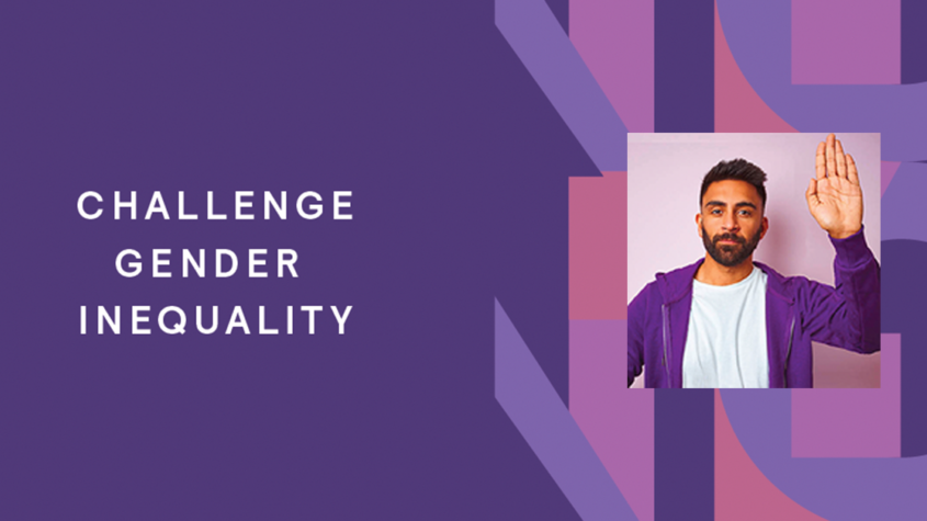 Help to promote IWD and commit to challenging gender inequality