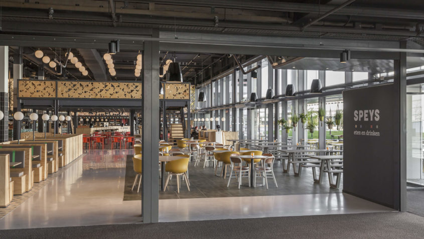 Connect & Meet: 100 year old Netherlands food court gets the UXUS treatment