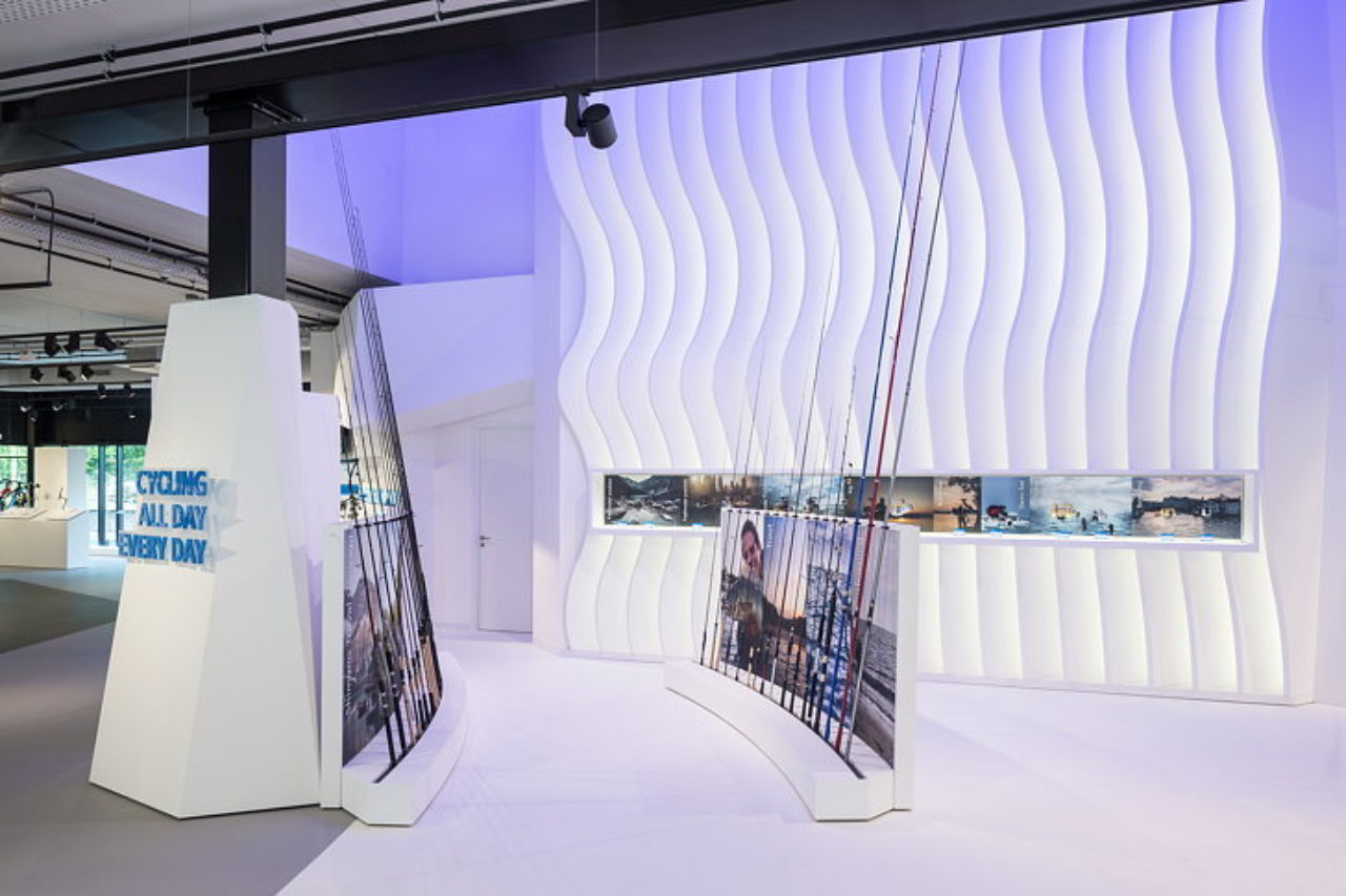 An immersive outdoor-indoor experience for Shimano