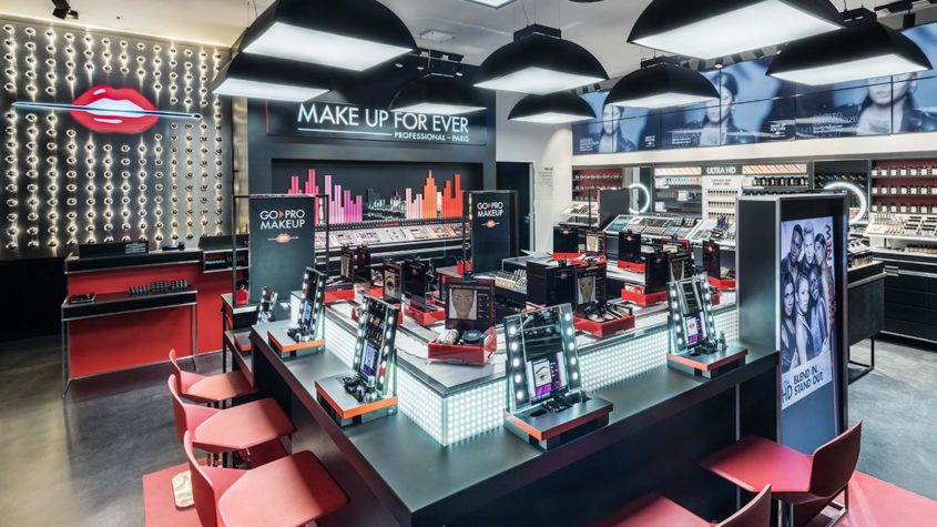 Flagship Store in New York for Make Up For Ever